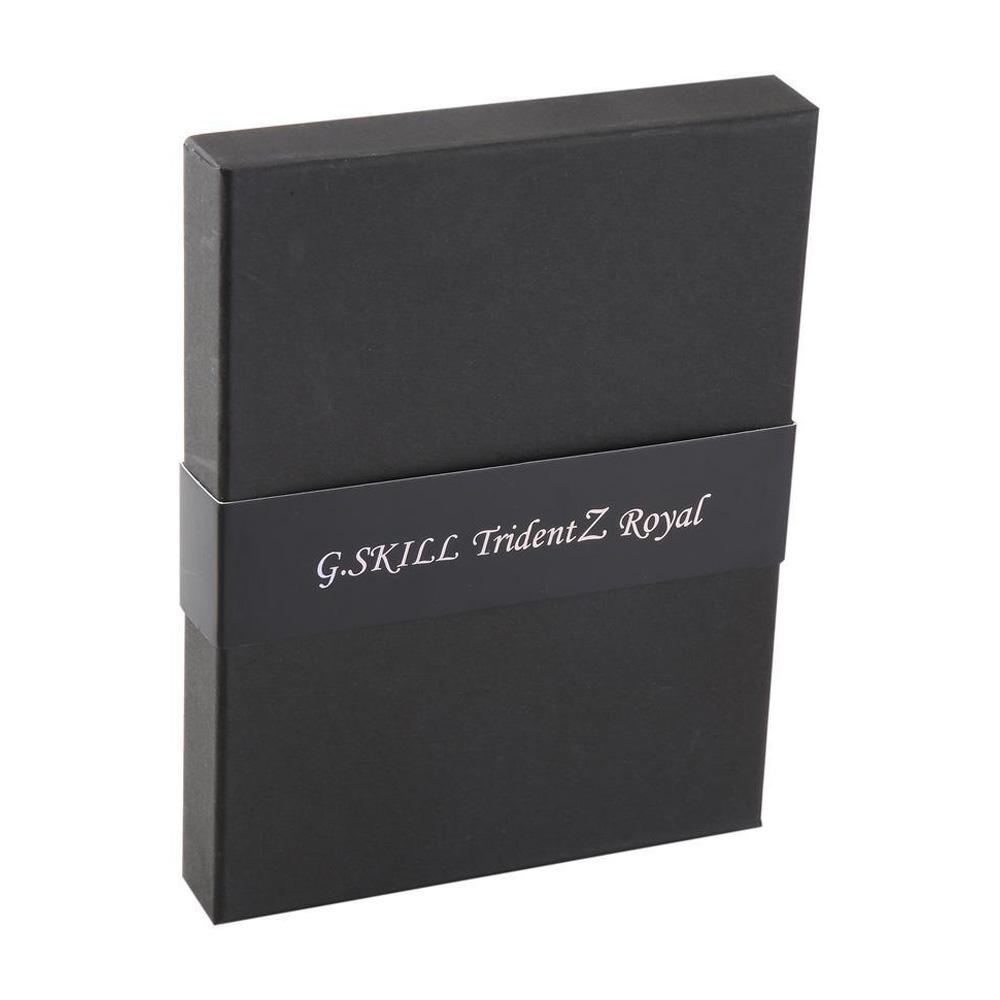 Ram PC G.SKILL Trident Z Royal Gold RGB 16GB 3200MHz DDR4 (8GBx2) F4-3200C16D-16GTRG