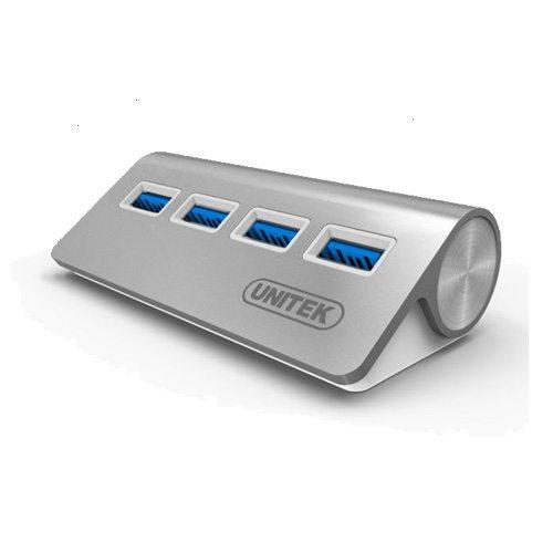 Bộ chia USB 4 cổng USB 3.0 Aluminium Unitek Y-3186