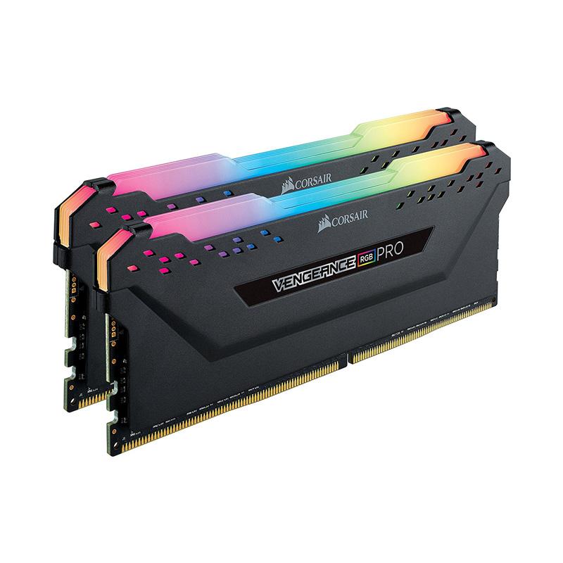 Ram PC Corsair Vengeance RGB Pro 64GB 3200Mhz DDR4 (2x32GB) CMW64GX4M2E3200C16