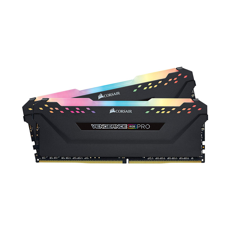 Ram PC Corsair Vengeance RGB Pro DDR4 KIT 32GB (2x16GB) Bus 3200Mhz C16 CMW32GX4M2E3200C16