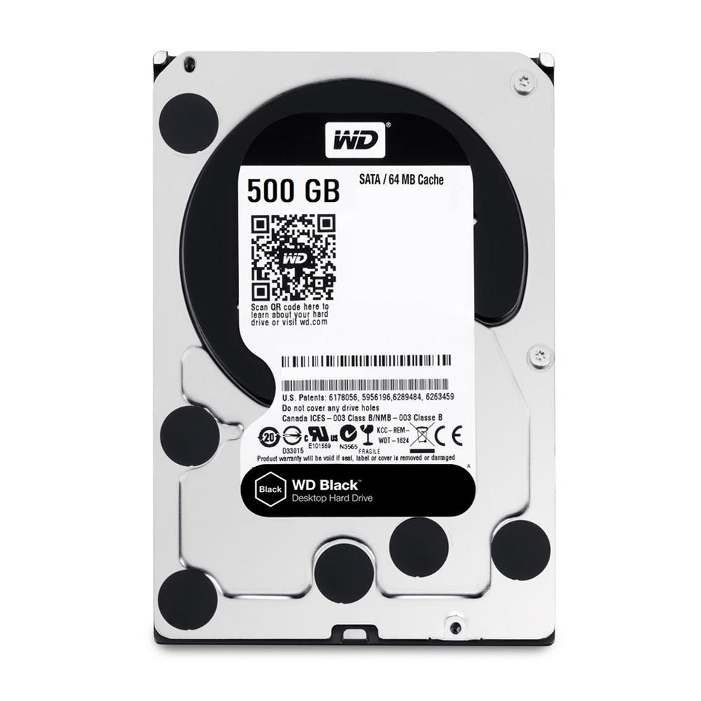 HDD WD Black 500GB 3.5 inch SATA III 64MB Cache 7200RPM WD5003AZEX