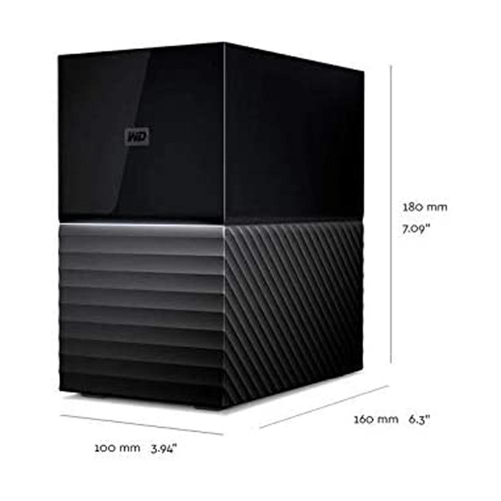 Ổ cứng để bàn HDD 8TB Western Digital My Book Duo WDBFBE0080JBK-SESN