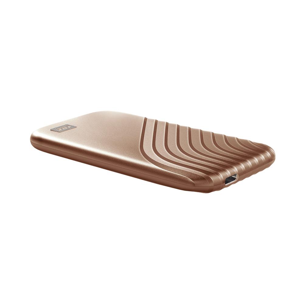 Ổ cứng di động 2TB External SSD Western Digital My Passport USB 3.2 Gen 2 WDBAGF0020BBL-WESN