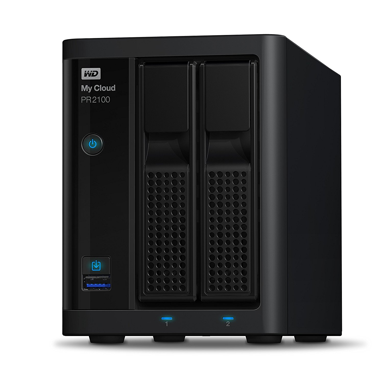 Thiết bị lưu trữ mạng NAS WD My Cloud PR2100 WDBBCL0000NBK-SESN
