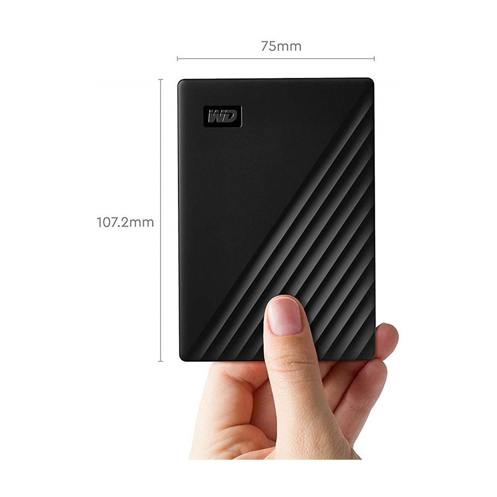 Ổ cứng di động Western Digital My Passport 4TB WDBPKJ0040BBK-WESN (Phiên bản mới)
