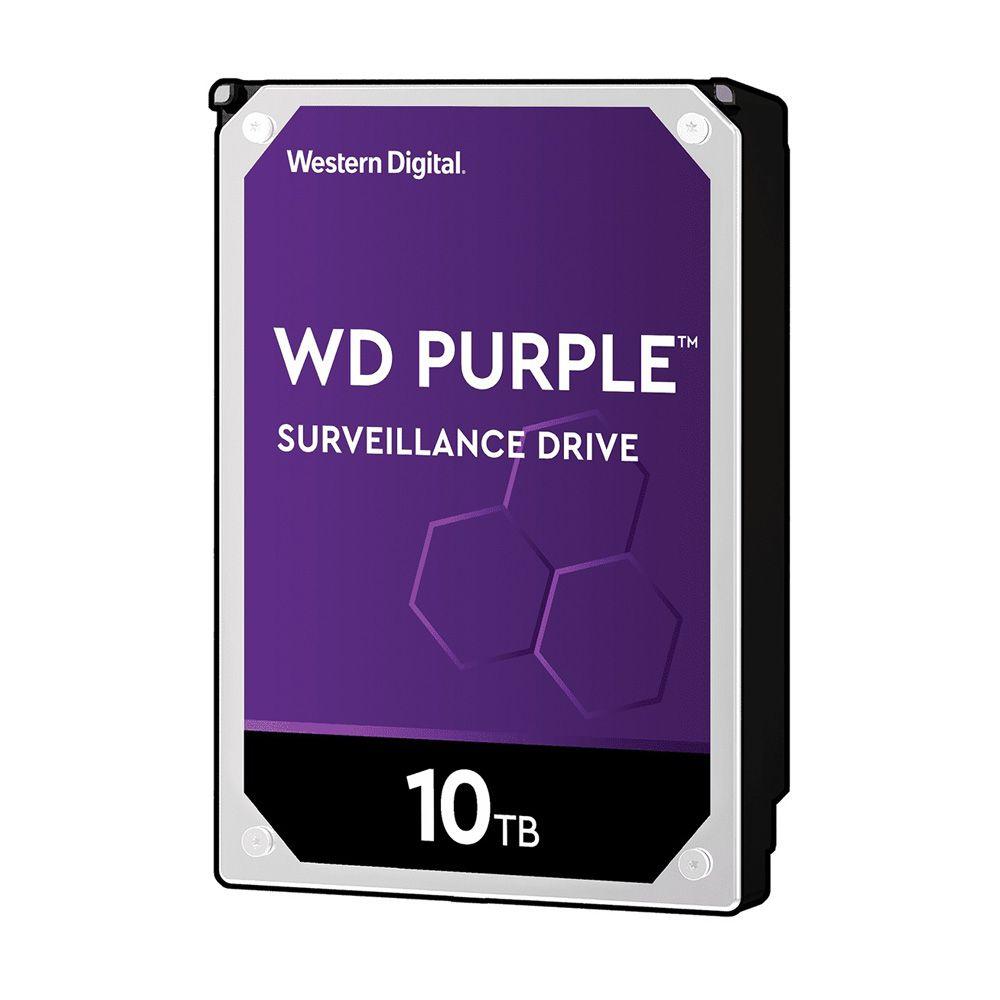 HDD WD Purple 10TB 3.5 inch SATA III 256MB Cache 7200RPM WD101PURZ