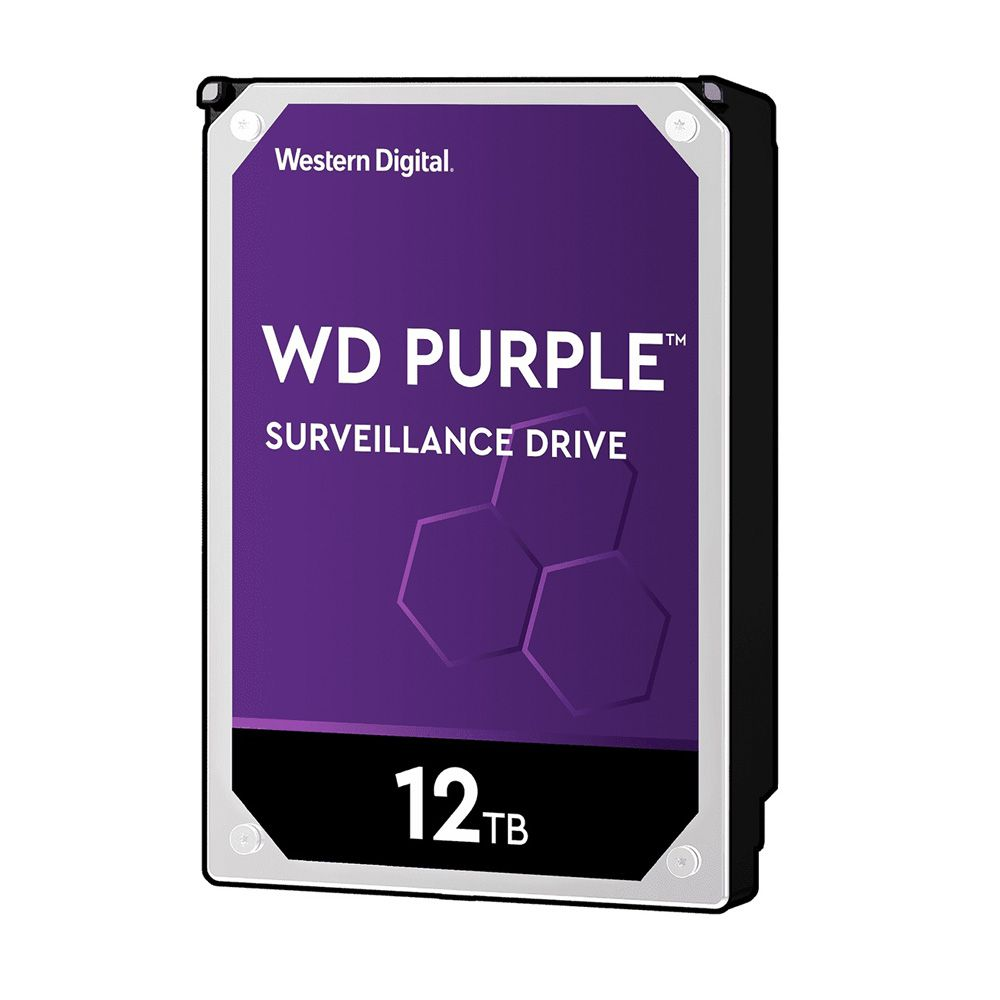 HDD WD Purple 12TB 3.5 inch SATA III 256MB Cache 7200RPM WD121PURZ