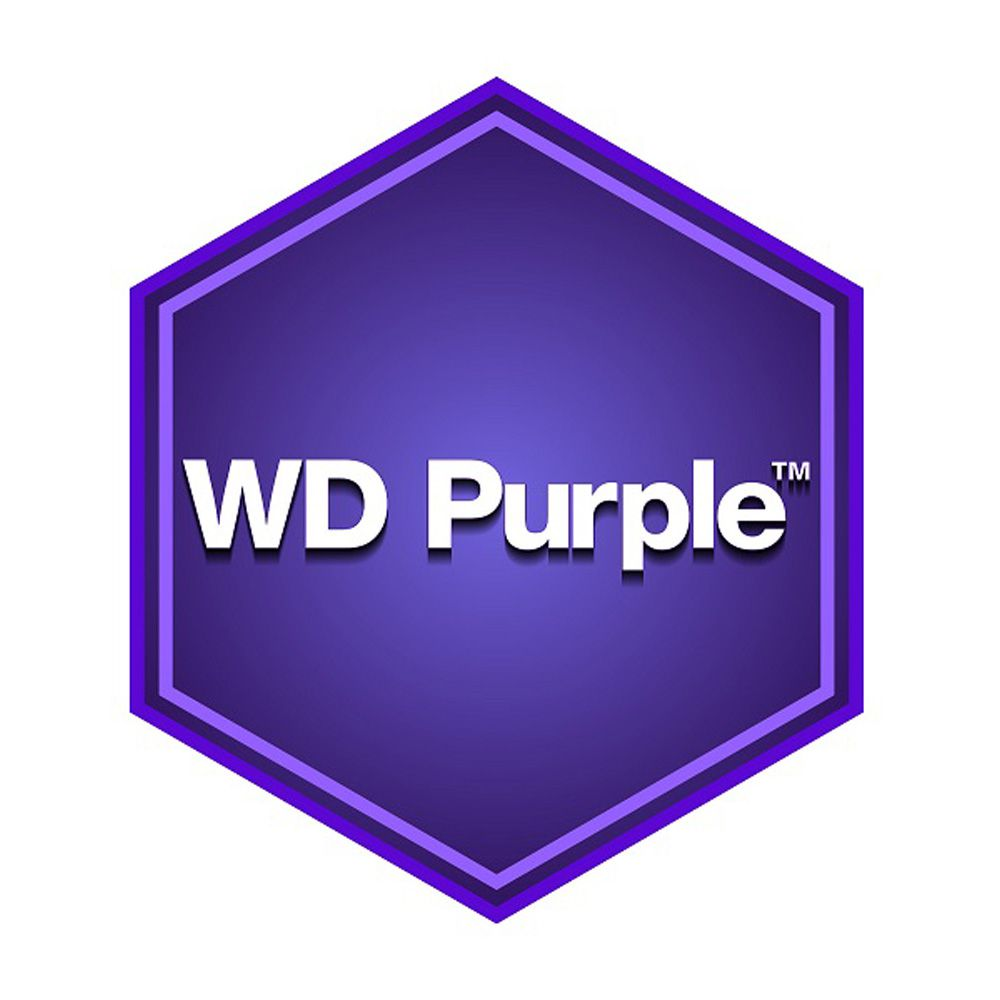 HDD WD Purple 2TB 3.5 inch SATA III 64MB Cache 5400RPM WD20PURZ