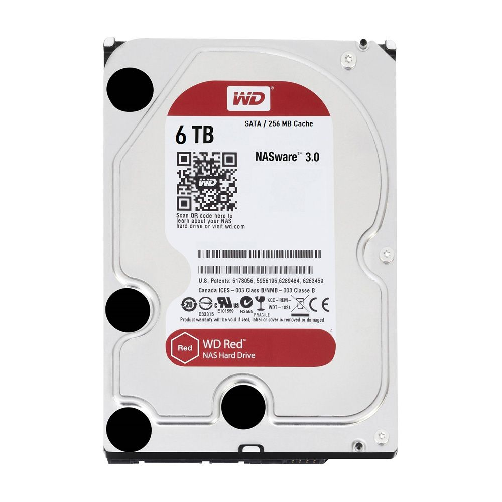 HDD WD Red 6TB 3.5 inch SATA III 256MB Cache 5400RPM WD60EFAX