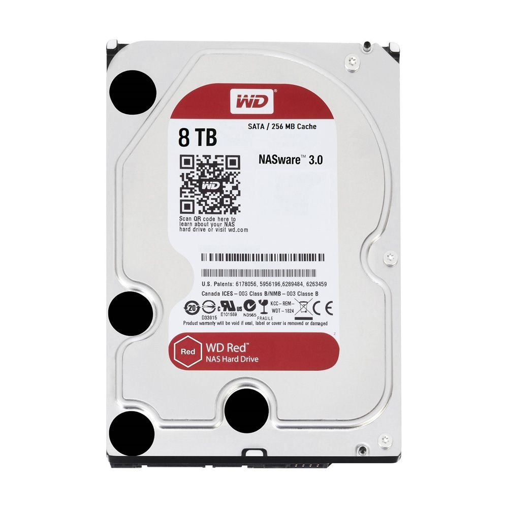 HDD WD Red 8TB 3.5 inch SATA III 256MB Cache 5400RPM WD80EFAX