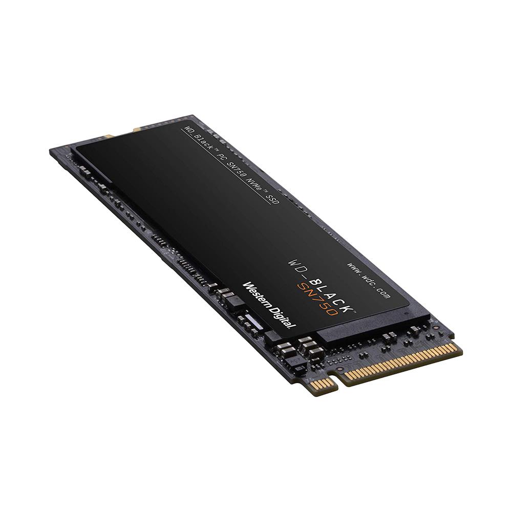 SSD Western Digital Black SN750 PCIe Gen3 x4 NVMe M.2 500GB WDS500G3X0C