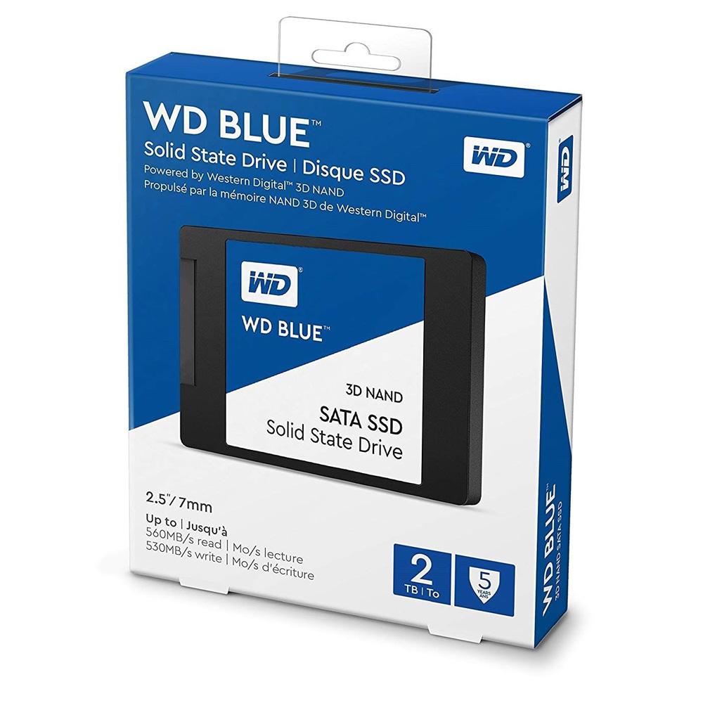SSD Western Digital Blue 3D-NAND SATA III 2TB WDS200T2B0A