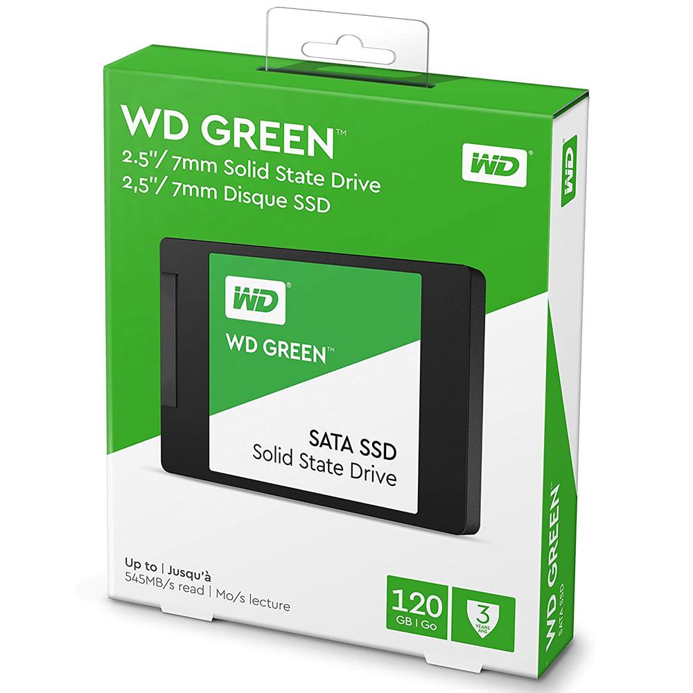 SSD Western Digital Green Sata III 120GB WDS120G2G0A