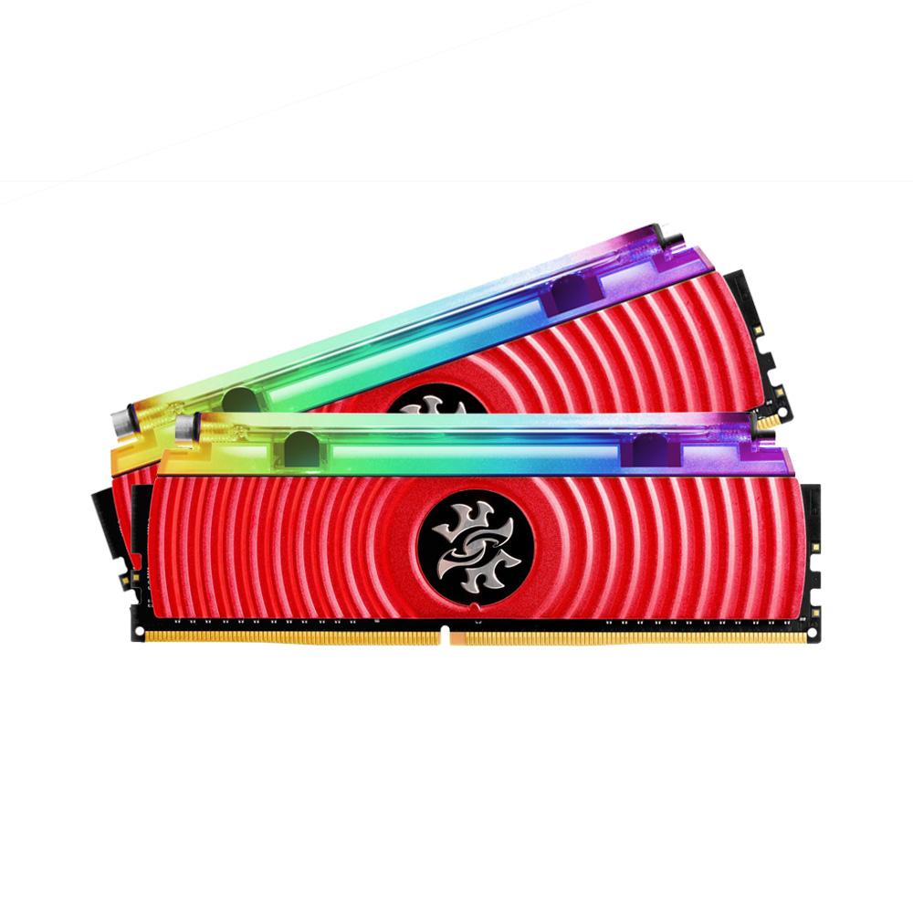 Ram PC Adata XPG Spectrix D80 RGB 16GB 3000Mhz DDR4 (2x8GB) AX4U300038G16-DR80 (Tản nhiệt nước)