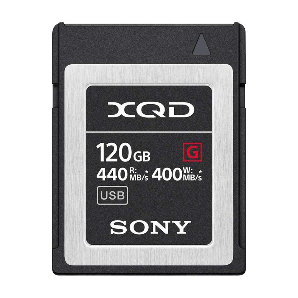 Thẻ nhớ Sony XQD G-Series 120GB 440MB/s QD-G120F