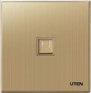 Bộ ổ cắm đơn mạng uten Q9 1PC
