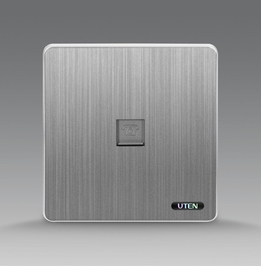 Bộ ổ cắm đơn điện thoại uten S300 1TEL