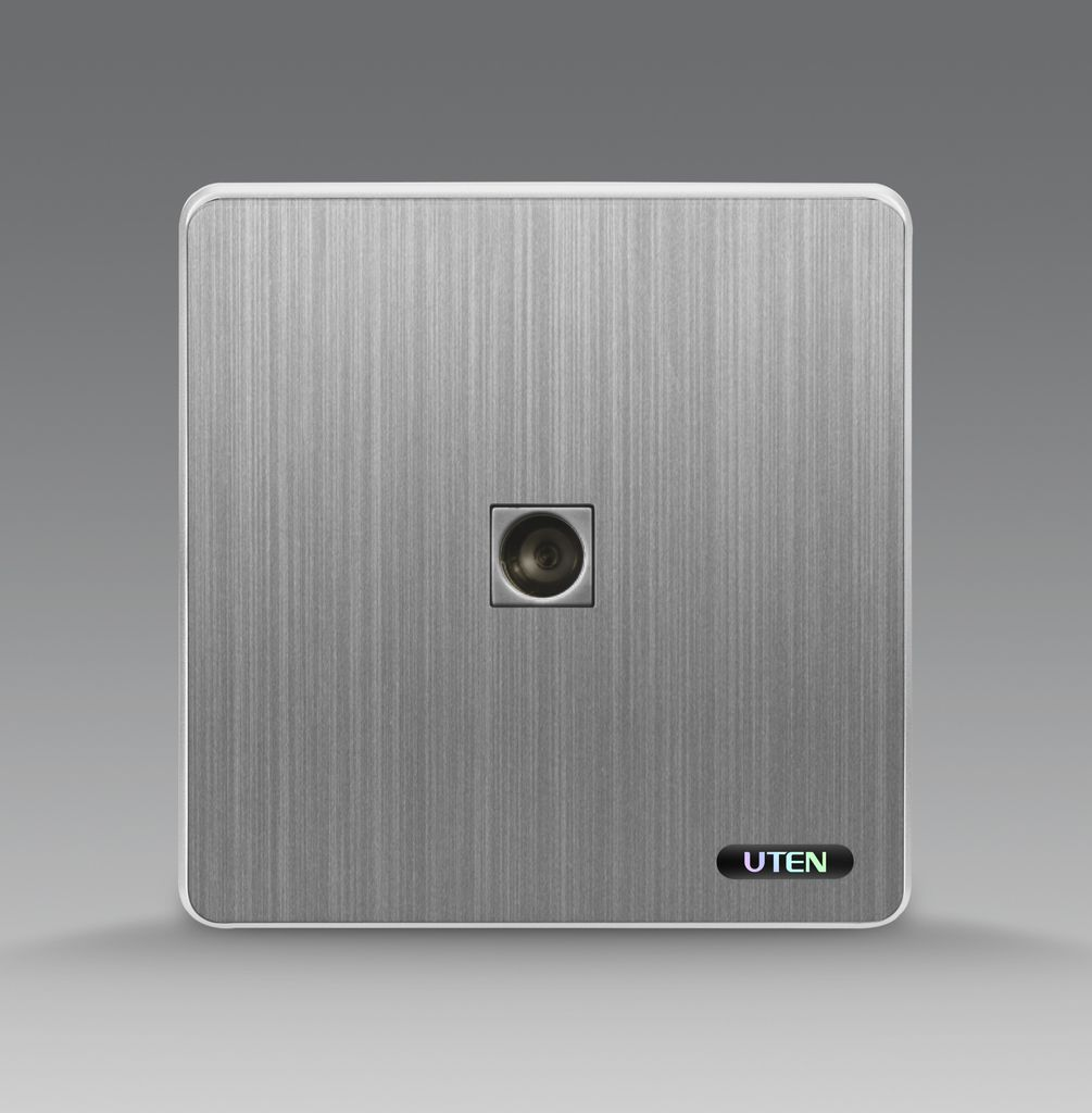 Bộ ổ cắm đơn tivi uten S300 1TV