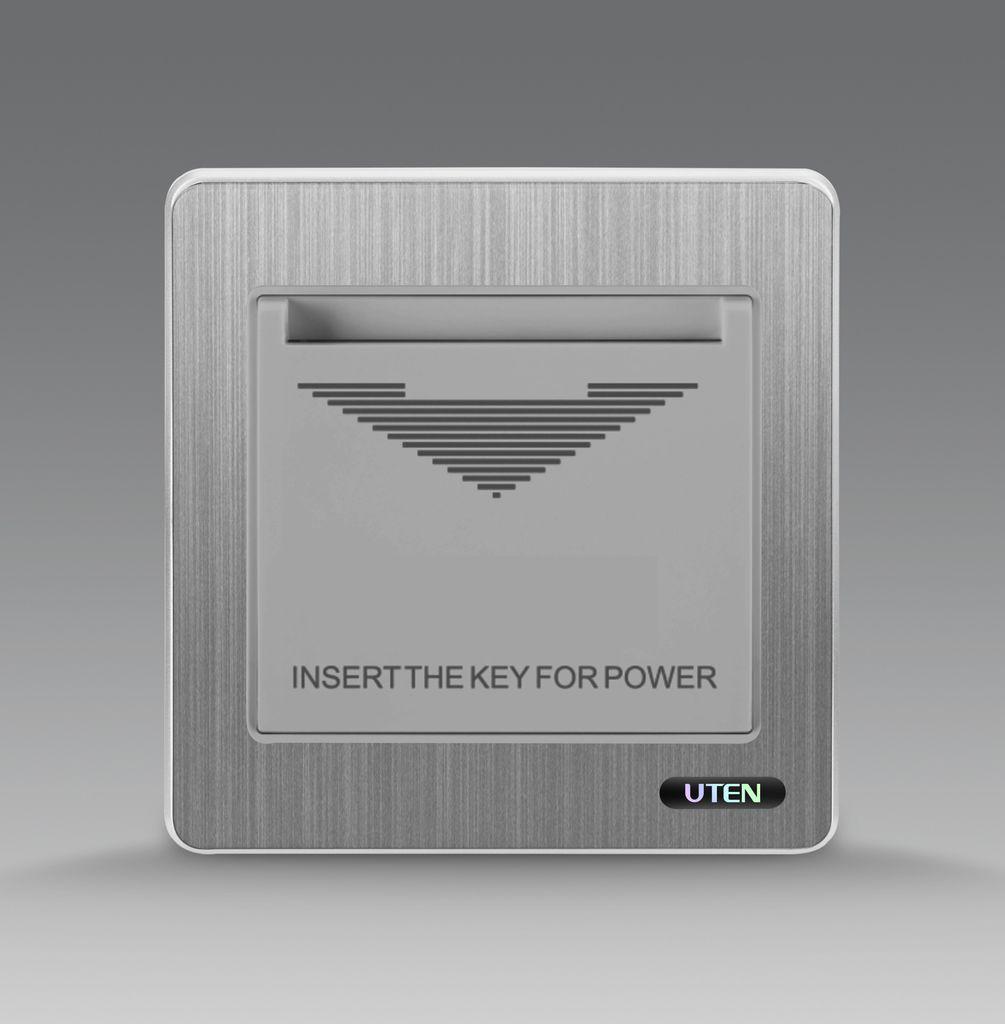 Bộ công tắc dùng thẻ uten S300 1DJ