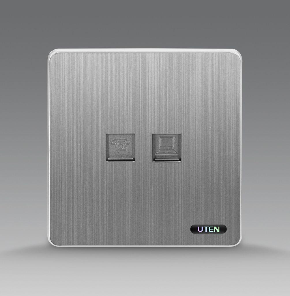 Bộ ổ cắm điện thoại + mạng uten S300 TELPC