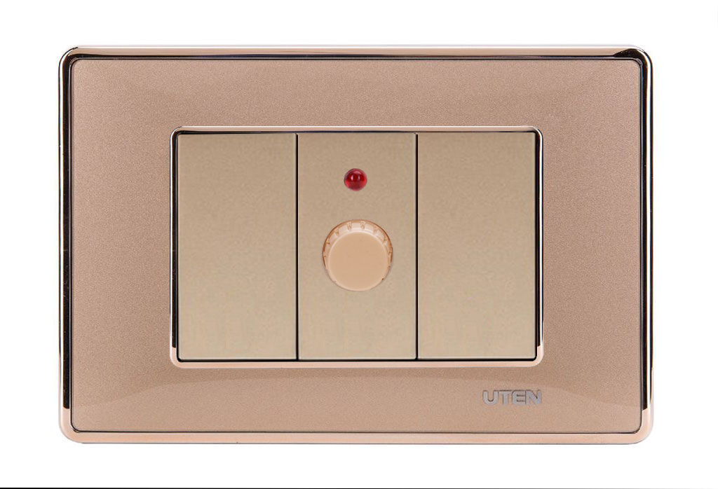 Bộ triết áp quạt uten Q120 D Gold