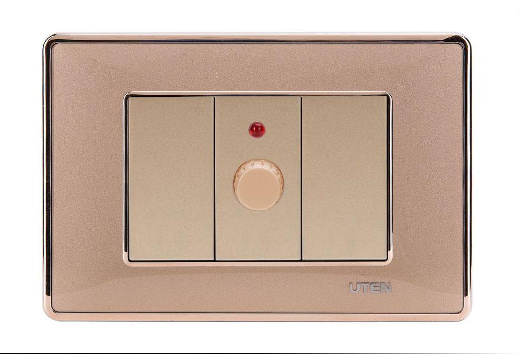 Bộ triết áp đèn uten Q120 D Gold