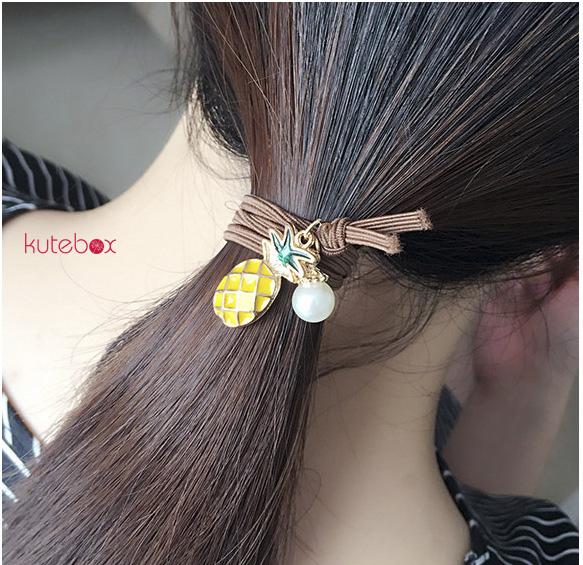 Dây buộc tóc sợi mảnh