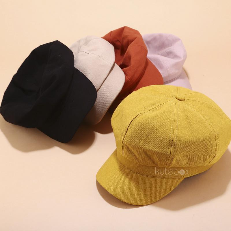 Mũ nồi màu trơn