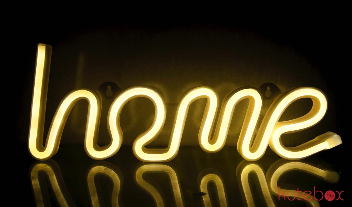 Đèn LED Chữ HOME