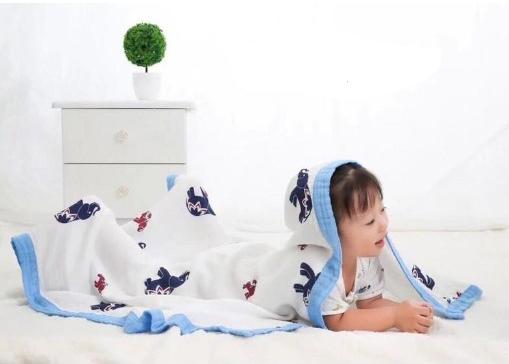 Chăn mềm mại, thoáng mát giúp bé ngủ ngon hơn, khỏe mạnh hơn