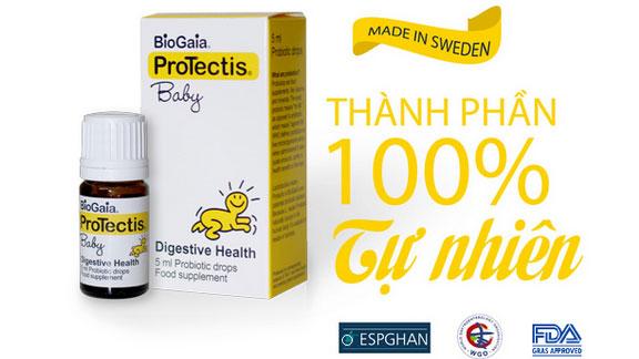 Biogaia với thành phần 100% tự nhiên