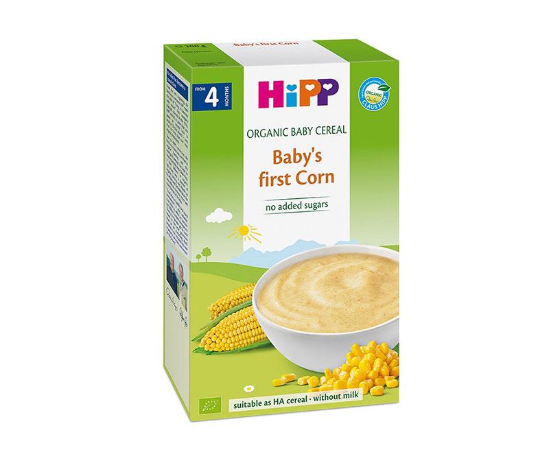 Bột dinh dưỡng hipp ngũ cốc bắp non (4M+)