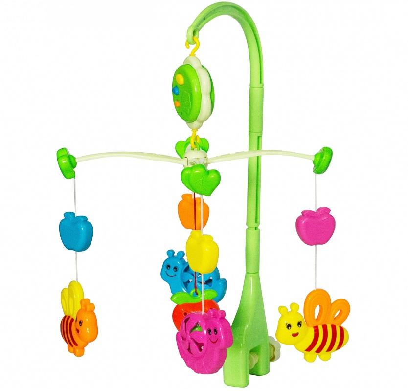 Kệ đồ chơi treo cũi cho bé với âm thanh du dương