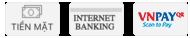 Các hình thức thanh toán tại MBMart.com.vn