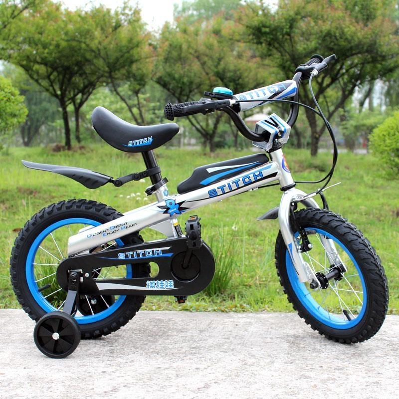Xe đạp cho bé trai Stitch 903