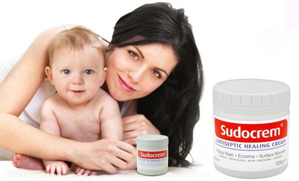 Kem trị hăm Sudocrem giúp làn da dịu nhẹ.giảm sưng tấy nhanh chóng
