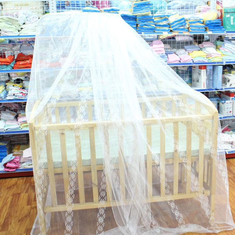 Giường cũi cho bé gồm: cũi, đệm, quây ga, giá treo và màn