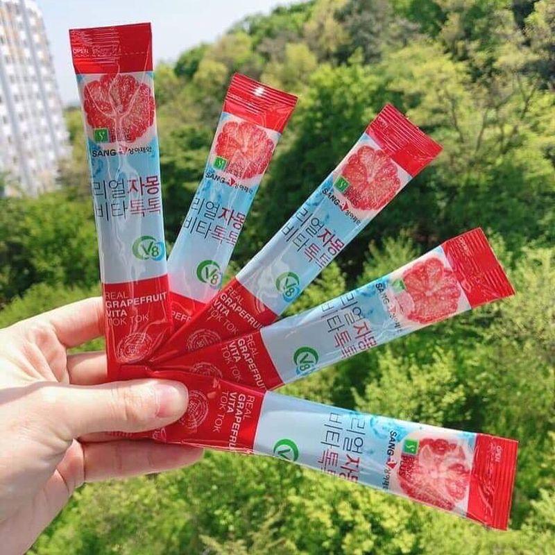 Trà bưởi giảm cân Hàn quốc Sang-A (30 gói/hộp)