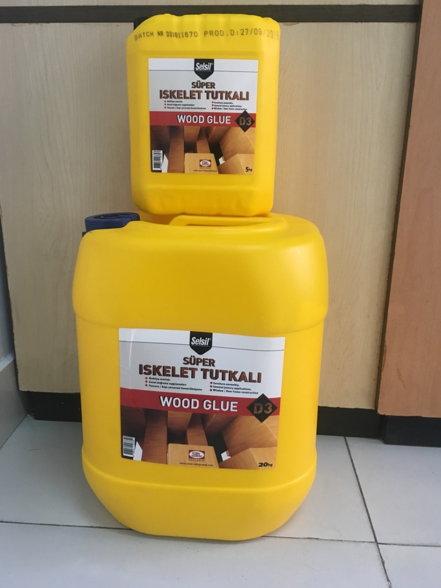 Keo sữa dán ghép gỗ Selsil wood glue D3