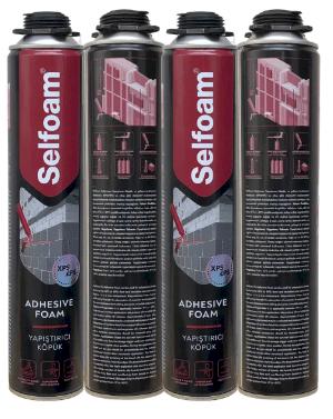 Keo Bọt Nở SELFOAM Dán Gạch Nhẹ Eps, Tấm Cách Nhiệt - Selfoam Pu Styro