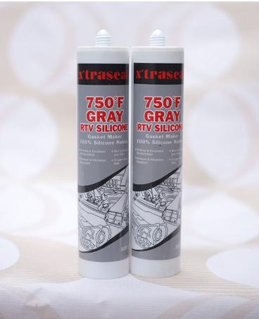 Keo tạo gioăng chịu nhiệt Xtraseal 750°F Gray RTV Silicone 300gr