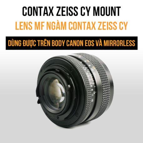 Lens MF ngàm Contax Zeiss CY