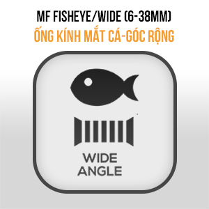 Lens MF Prime FIX Wide (Fisheye 6mm - 38mm)