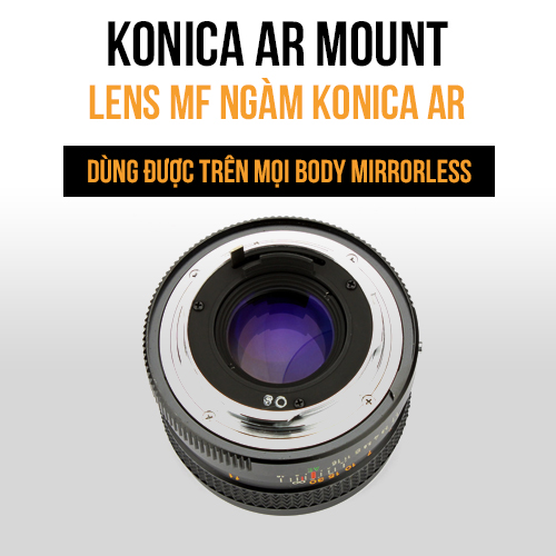 Lens MF ngàm Konica AR