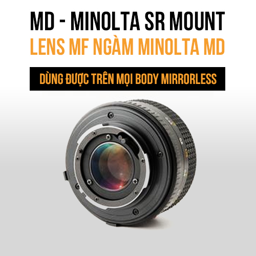 Ngàm Minolta SR - MD mount MF