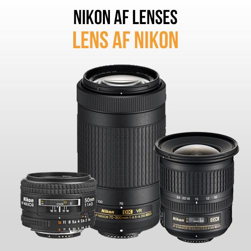 Lens Nikon AF (AF-D, AF-S, AF-P)
