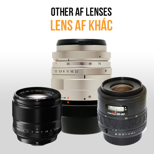 Lens AF khác | Other AF lens (Fuji, Contax, Pentax....)