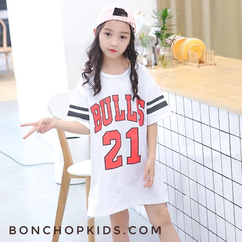Đầm BG BULLS- TRẮNG