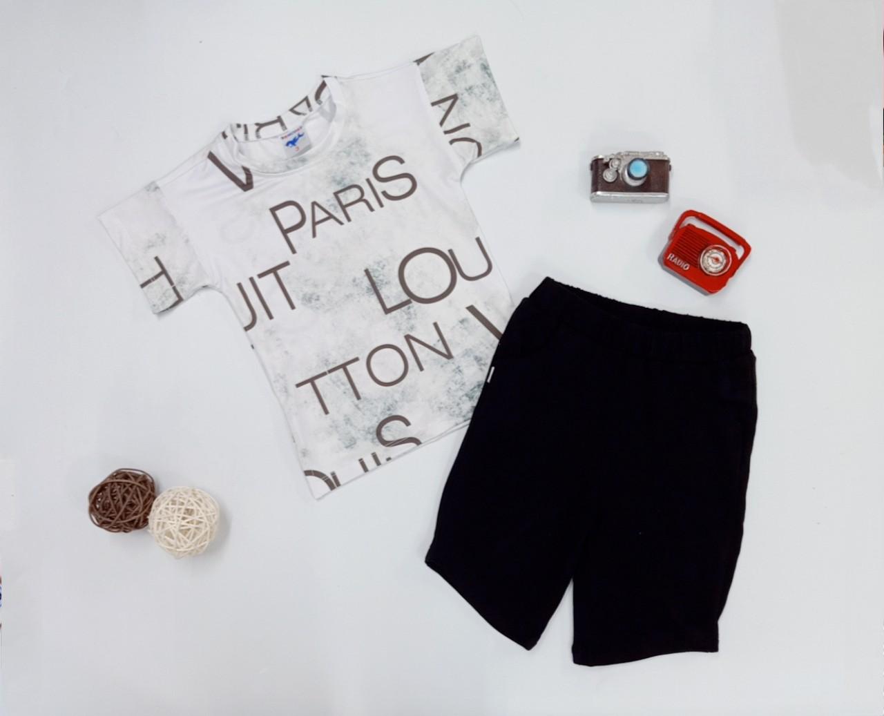 BỘ BÉ TRAI LOUIS PARIS-TRẮNG