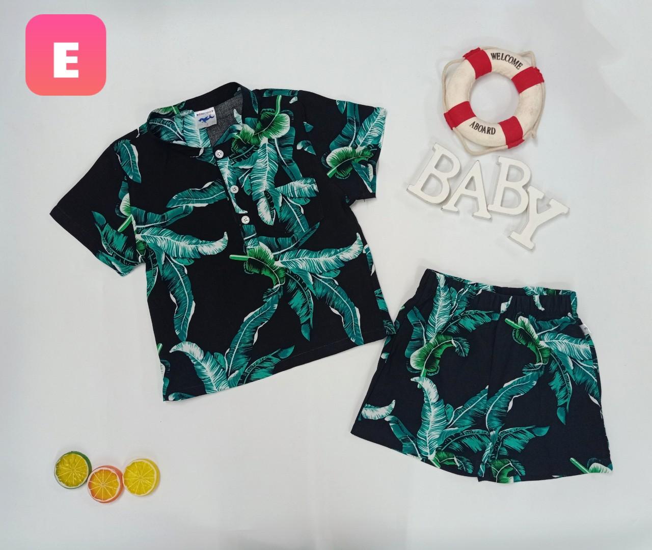 BỘ Pijama TRÁI CÂY SUMMER-E
